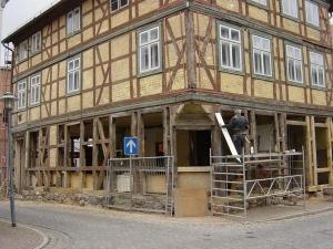 Sanierung Wohn- und Geschäftshaus in 19300 Grabow R.- Breitscheidstr.